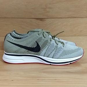 bf66c4d882167 Nike Shoes - Nike Flyknit Trainer Neutral Olive AH8396-201